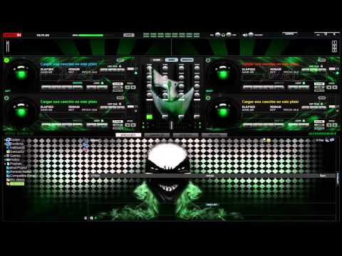 Skin Green Para El Virtual Dj 7