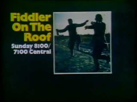 ABC Fiddler On The Roof Promo Slide 1974