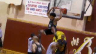 "5'10 Justin ""Mouse"" Melton Catches A Crazy Reverse Oop / Meet Me @ The Rim Blog"