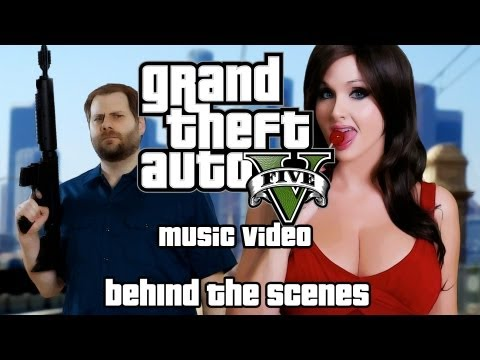 Screen Team's GTA 5 Rap Song - Behind the Scenes: B*tch It's Grand Theft Auto!