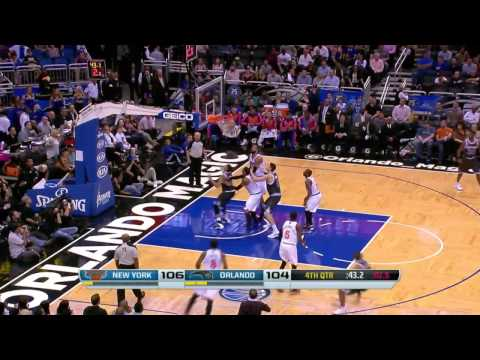New York Knicks vs Orlando Magic | February 21, 2014 | NBA 2013-14 Season