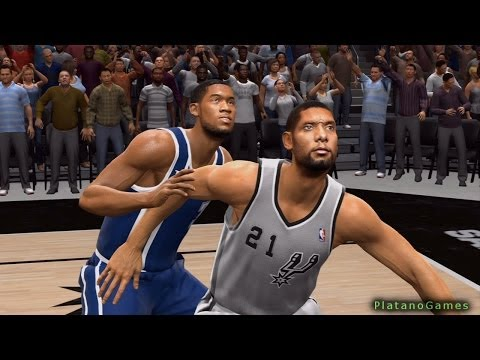 NBA Live 14 West Finals 2014 - Oklahoma City Thunder vs San Antonio Spurs - Game 2 - Halftime - HD