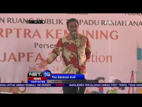 Kejar Target 100 RPTRA di Ibu Kota, Dajrot Resmikan RPTRA Kemuning NET16