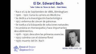 Flores de Bach, nivel básico. Clase 1