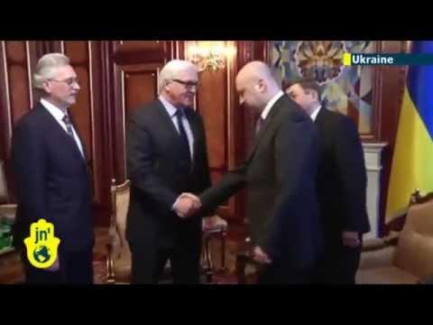 UN's Ban praises new Ukraine premier