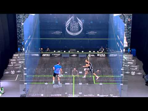 Squash : Allam British Open 2013 - Rd1 Roundup part 1