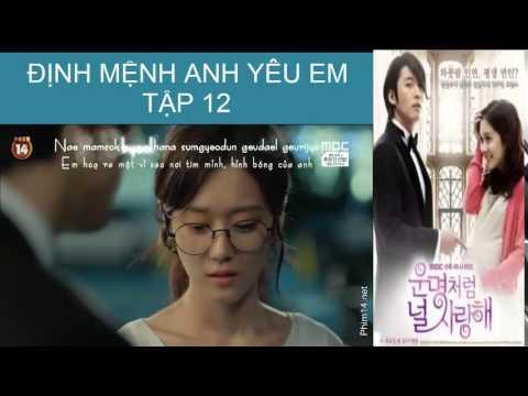 [Phim Hàn Quốc] Định Mệnh Anh Yêu Em Tập 12 part 2