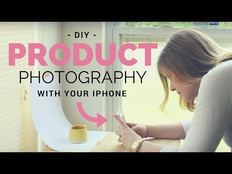 Online Shop Photography Tips - With an iPhone!