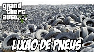 GTA V Lixão De Pneus No Fundo Do Mar Easter Egg MOD MAR