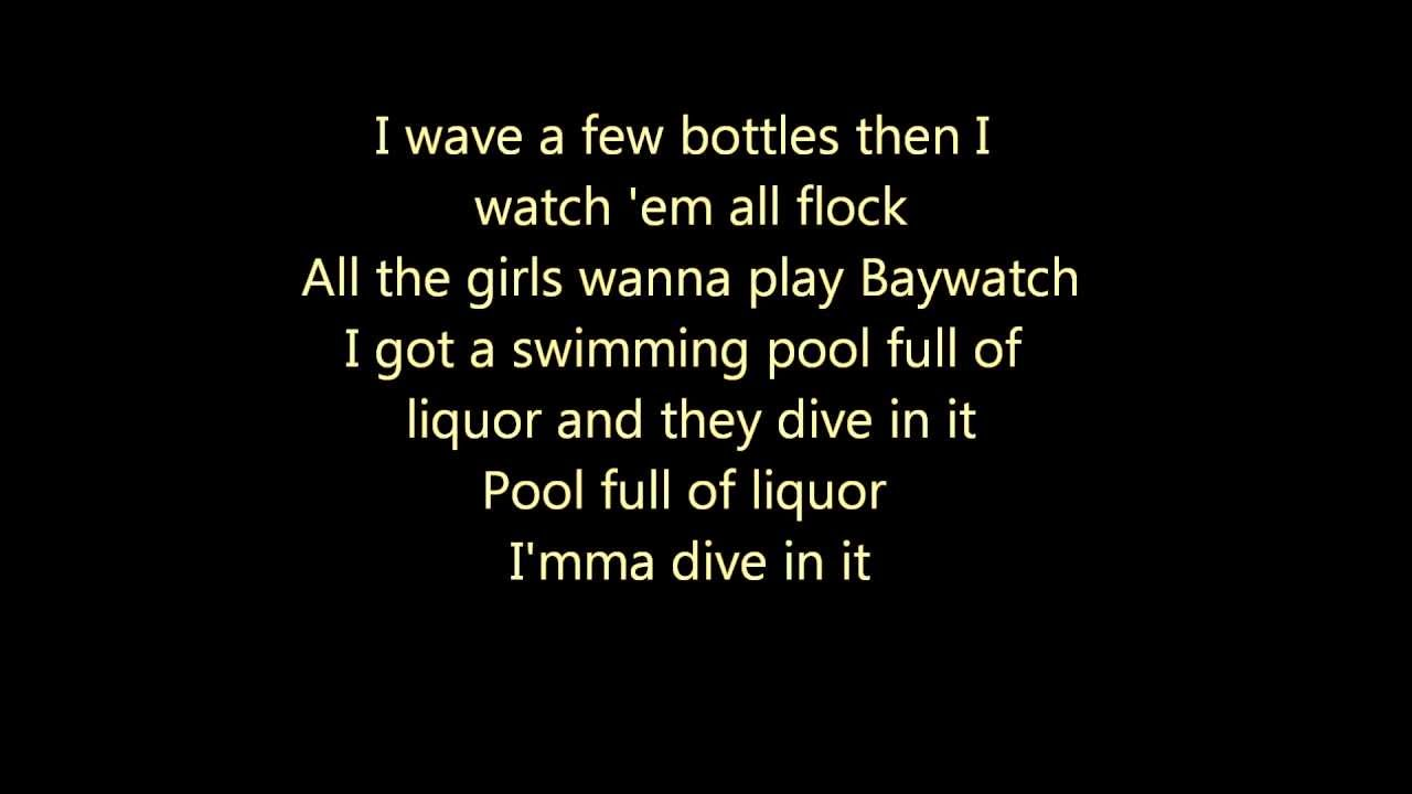 Swimming Pools Kendrick Lamar Lyrics Youtube