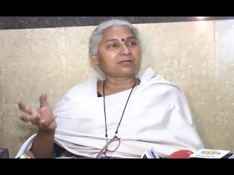 Medha Patkar talks on Anna Hazare and Arvind Kejriwal