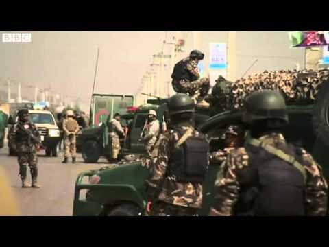 Burqa-clad Taliban Storm Kabul Election HQ