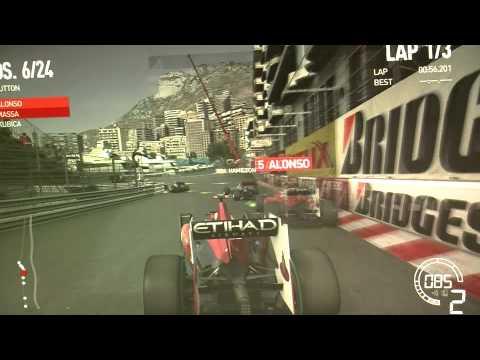 F1 2010 Gameplay