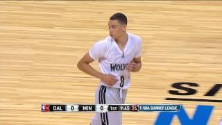 Zach LaVine's 1st NBA Basket Is An Alley-Oop
