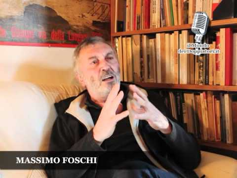 Intervista a MASSIMO FOSCHI (2012) | ilmondodeidoppiatori.it