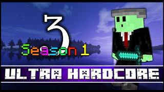HEROBRINE!!! ~ Minecraft ULTRA Hardcore ~ Season One (Part