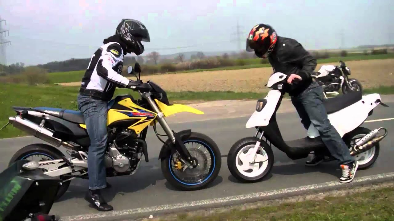 scooter wheelie tuning test fun attack hd youtube. Black Bedroom Furniture Sets. Home Design Ideas