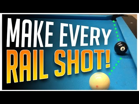 Pool Lessons - Make every Rail Shot!!!