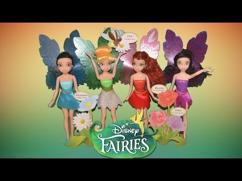 Fairy Barie Dolls - Disney TinkerBell Fairy Dolls Sparkle Blossom Collections