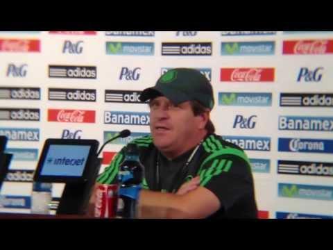 Amistoso ante Nigeria no definirá lista del TRI para Brasil: Miguel Herrera