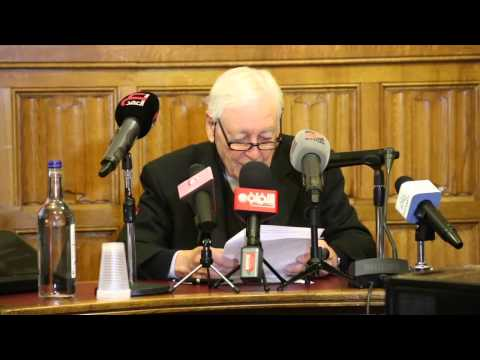 Lord Eric Avebury Speech at Parliamentary Event on Bahrain Revolution Anniversary