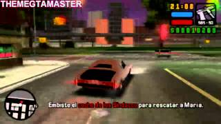 GTA Liberty City Stories PSP Mision 21: Taken For A Ride Español  GamePlay Comentado view on youtube.com tube online.