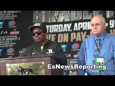 tim bradley after manny pacquiao fight EsNews Boxing