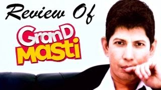 Grand Masti : Online Movie Review