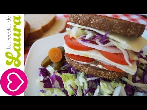 Sandwich de Queso ♥ Cheese Sandwich Recipe