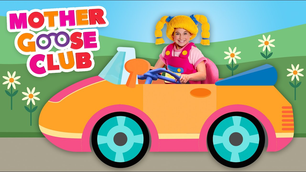 Driving in My Car - Mother Goose Club Nursery Rhymes