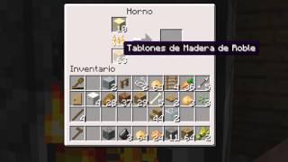 Minecraft Como Hacer Un Vidrio ( Cristal Para Ventanas