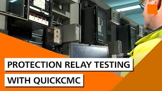 Protection relay testing with QuickCMC