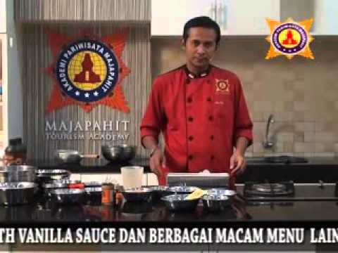 video cara membuat yoghurt caramel pudding with chocolate sauce-info dvd 031-8433224