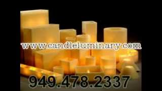 Candle Luminaries Hollow Wax Candles Hurricane Candles