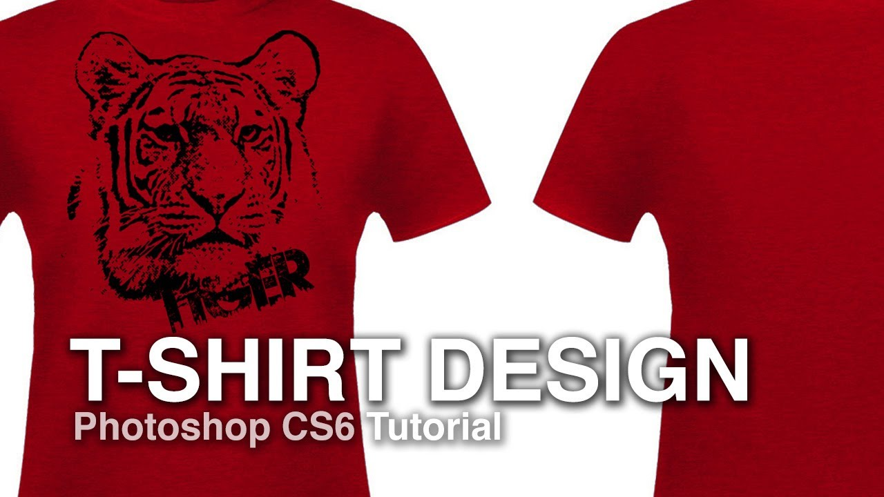 how to design a t shirt from a photograph photoshop