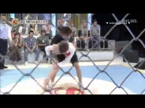 130713 Starking EXO KAI Wrestling Cut 1
