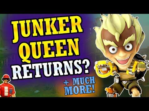 """MORE Sombra Changes, """"Leaked"""" Skin, Junker Queen Update, & New Junkrat Figure! (Overwatch News)"""