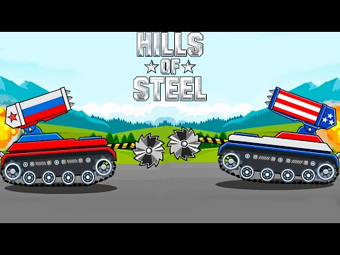 TANK BARRACUDA ALL MAPS ADVENTURE - Hills of Steel / Android Gameplay 2019 Game Android/iOS