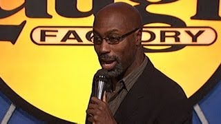 Laugh Factory: Mario Joyner: Sit down, Tray up