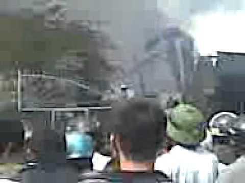 Hút thuốc lào gây cháy lớn tại Đồng xoài