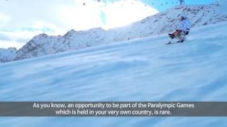 Interview avec skieur alpin coréen, HAN Sangmin