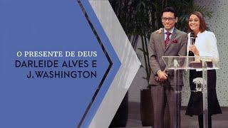 28/04/19 - Darleide Alves e J. Washington
