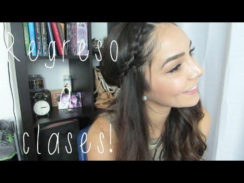 REGRESO A CLASES: PEINADOS CON CABELLO SUELTO! - YouTube