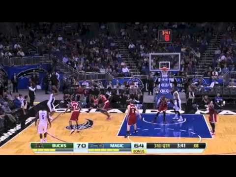 Arron Afflalo makes eight three-pointers to lift Magic past Bucks
