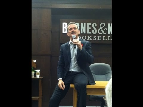 Astronaut Chris Hadfield speaking at The Grove, L.A. at Barnes & Noble book signing