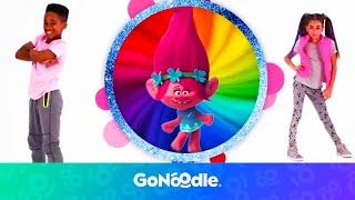 Trolls: Can't Stop The Feeling | GoNoodle