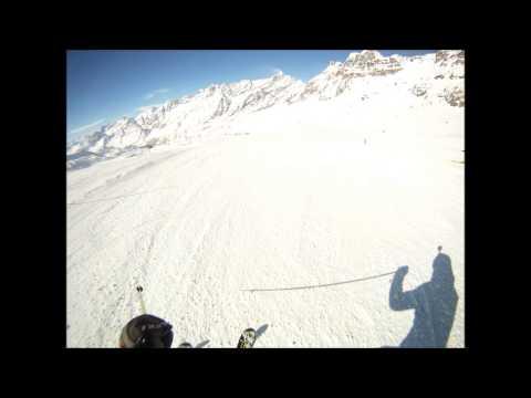 Cervinia - Valtournenche: pista Plateau Bontad numero 6