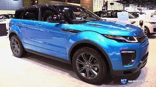2018 Range Rover Evoque Landmark Edition - Exterior Interior Walkaround - 2018 Chicago Auto Show