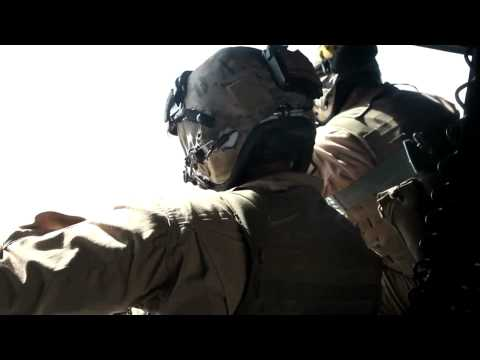 Marine Light Attack Helicopter Squadron Counter-Insurgency - Helmand Province Afghanistan footage