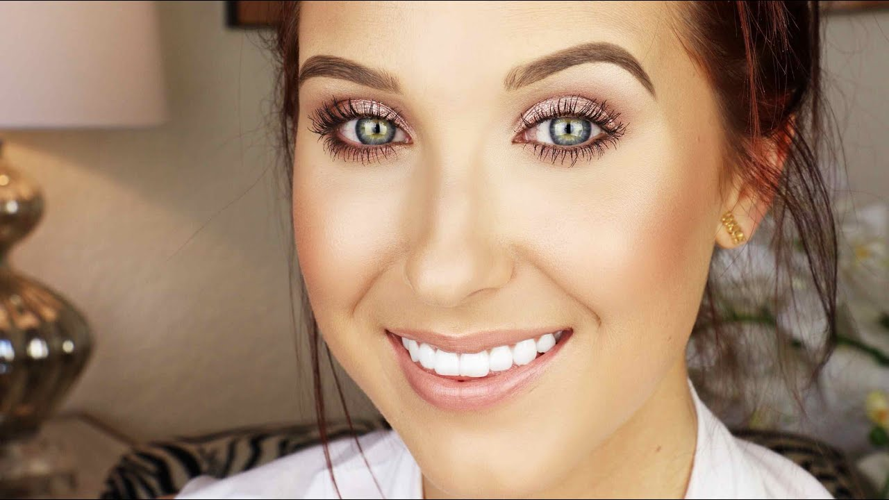 Everyday Drugstore Makeup Tutorial : Jaclyn Hill - YouTube